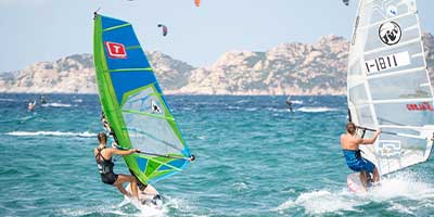 Windsurf School at Porto Pollo